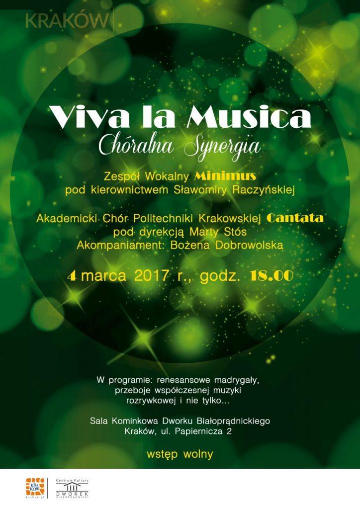 Koncert 4 marca - Dworek Białoprądnicki