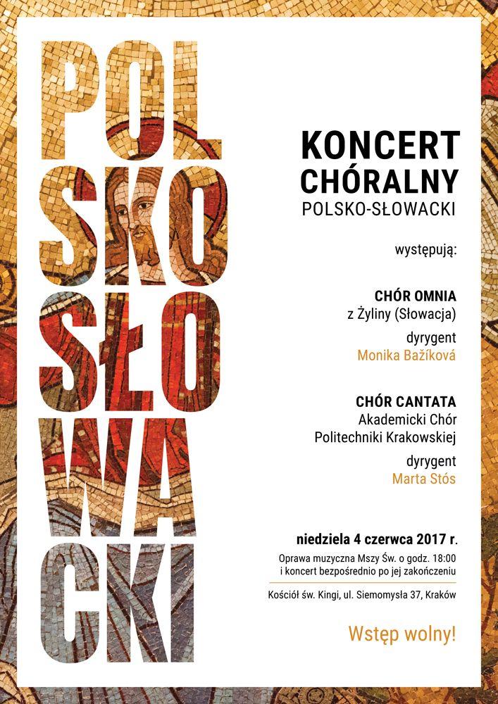 Koncert Polsko-Słowacki 4 czerwca 2017